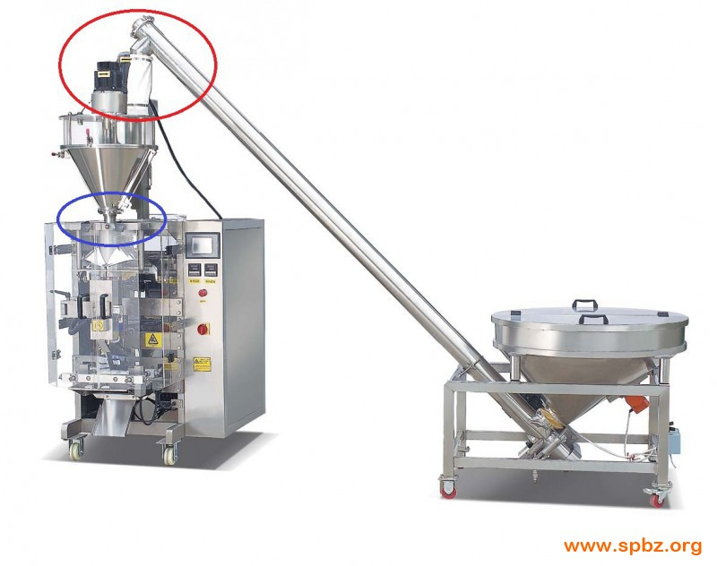 the device in the packaging machine